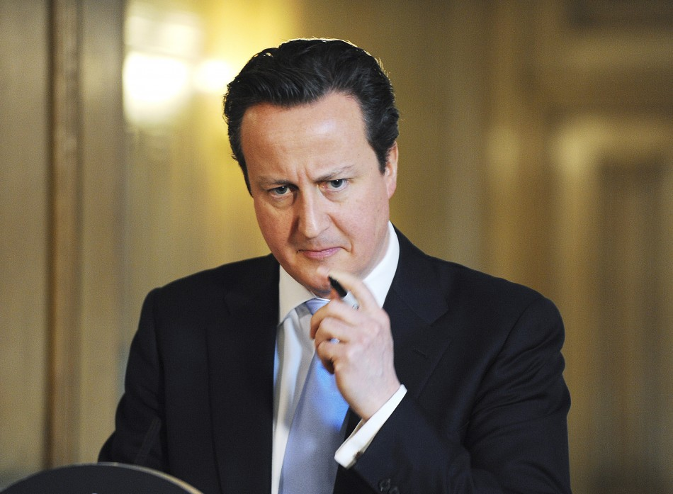 Prime Minsiter David Cameron