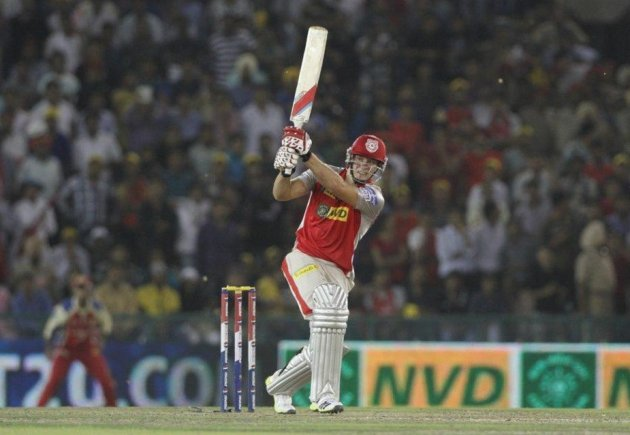Punjab's David Miller against RCB