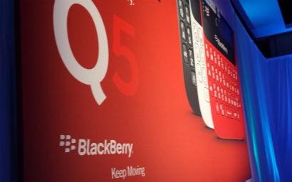 BlackBerry Q5 First Impressions