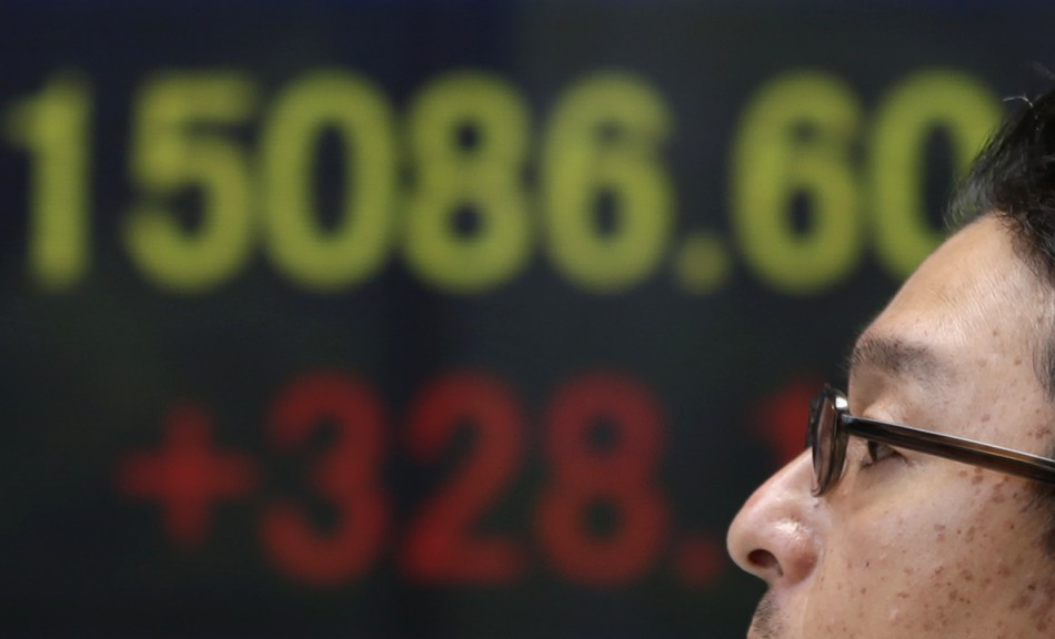 The Nikkei is rallying
