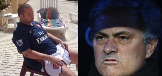 Jamie Filan has has been sentenced to 31 months for burgling Jose Mourinho (Facebook/Reuters)