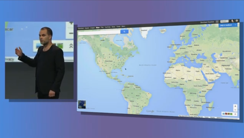 New google maps google I/o