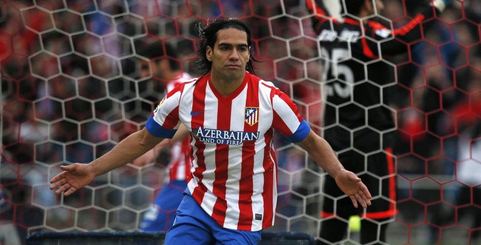 Radamel Falcao v Real Madrid
