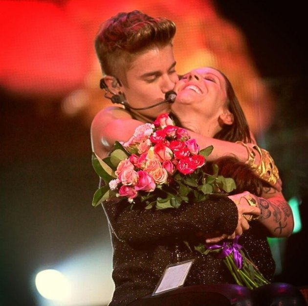 Justin Bieber fought with mother Pattie Mallette after she wanted to use a photo of her son on the cover of her 2012 book.