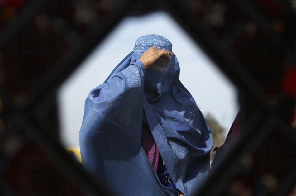 A woman wearing a Hijab