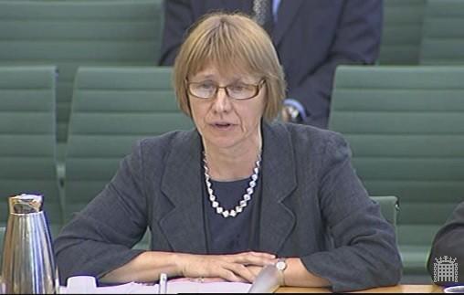 HMRC's chief executive and permanent secretary Lin Homer (Photo: Parliament TV)