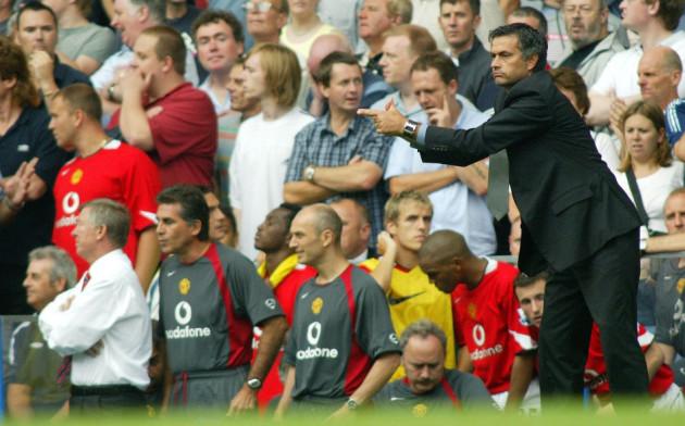 Mourinho and Ferguson