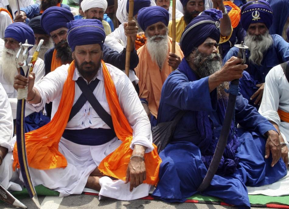 Nihang Sikhs (Reuters)