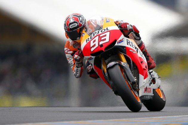 Marc Marquez will start French GP on pole