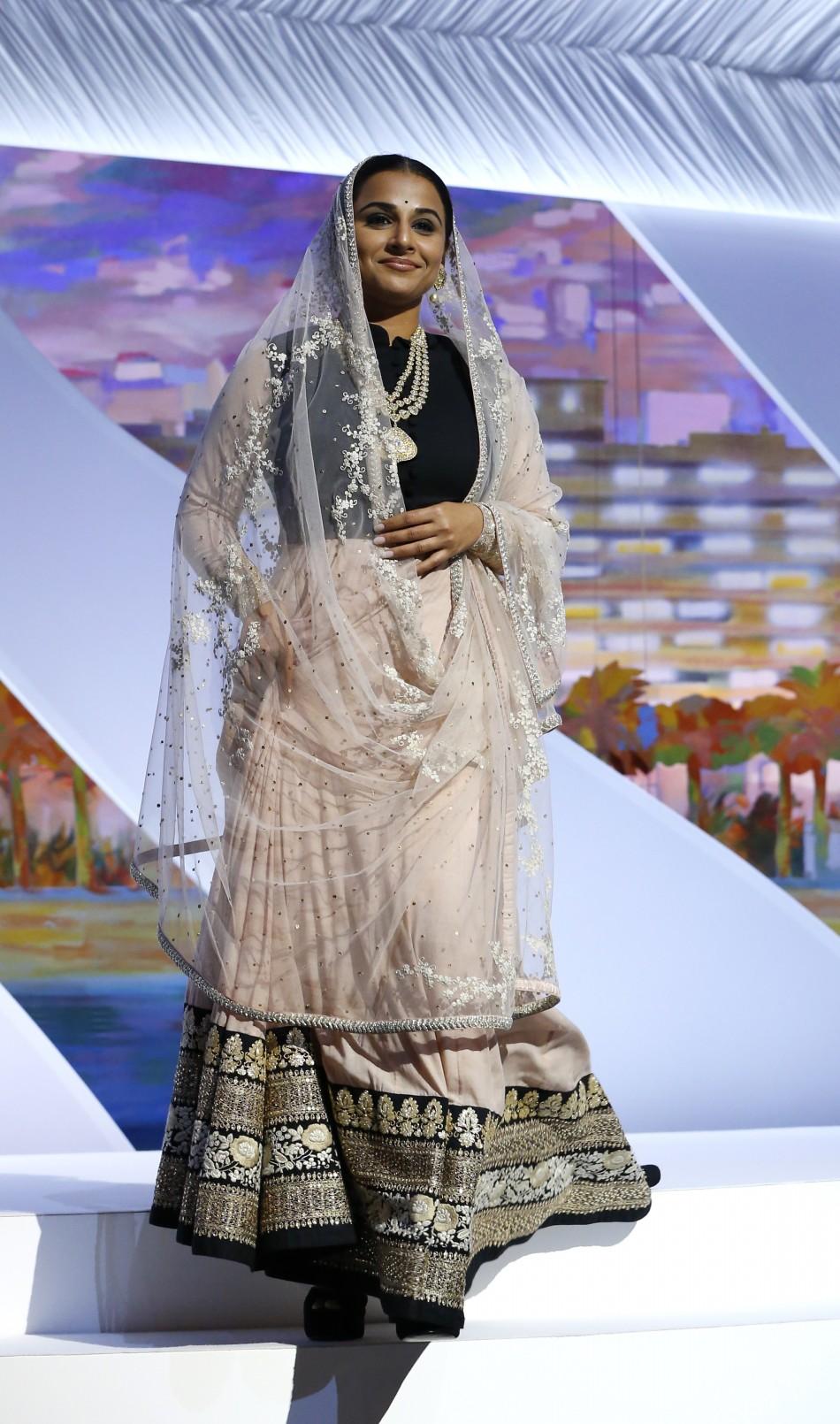 Vidya Balan at Cannes Film Festival 2013 Red Carpet