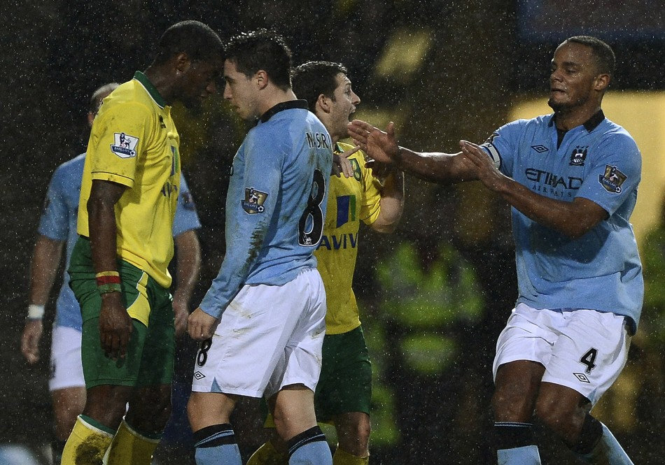 Man City v Norwich City