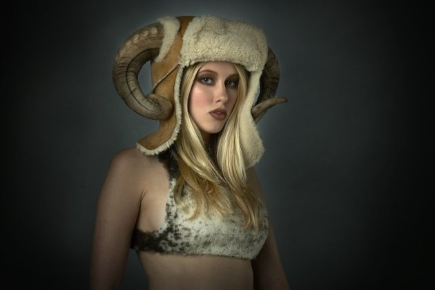 Jess Eaton's Roadkill designs designs have included garments and hats made from cat fur, rats, seagull  - and even a human ribcage