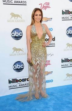 Jennifer Lopez at the Billboard Music Awards at the MGM Grand Garden Arena in Las Vegas, Nevada May 19, 2013.