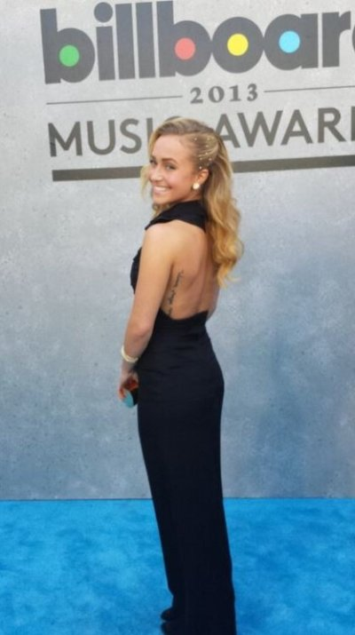 Hayden Panettiere at the Billboard Music Awards at the MGM Grand Garden Arena in Las Vegas, Nevada May 19, 2013.