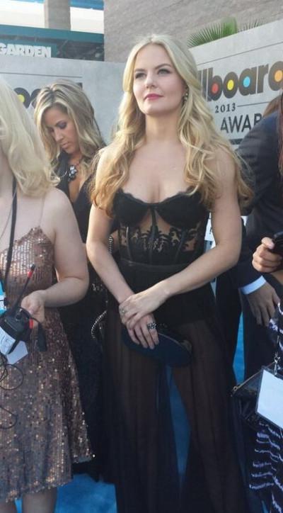 Jennifer Morrison at the Billboard Music Awards at the MGM Grand Garden Arena in Las Vegas, Nevada May 19, 2013.