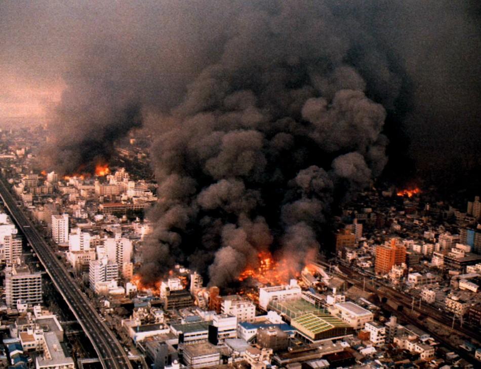 Japans Kob Earthquake 1995
