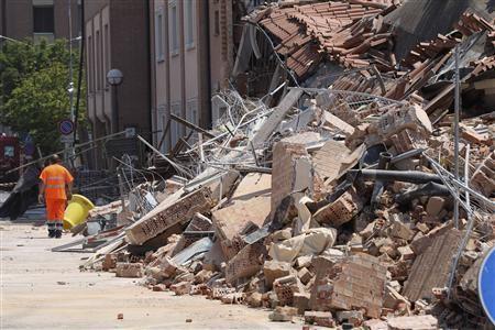 Italy's Naples earthquake 1980