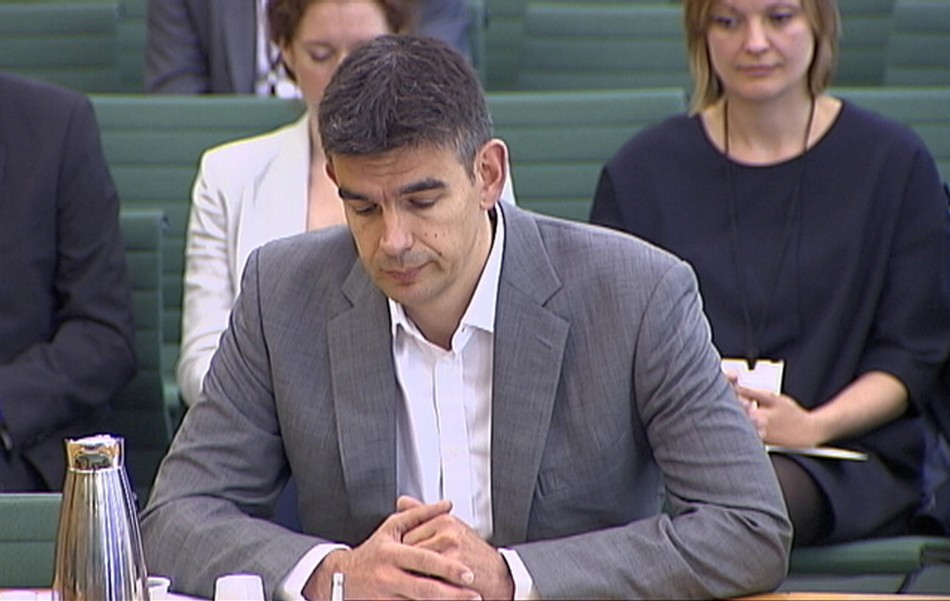 Google's Northern Europe boss, Matt Brittin, testified to the British parliamentary Public Accounts Committee (PAC) about their taxation practices in London in May last year