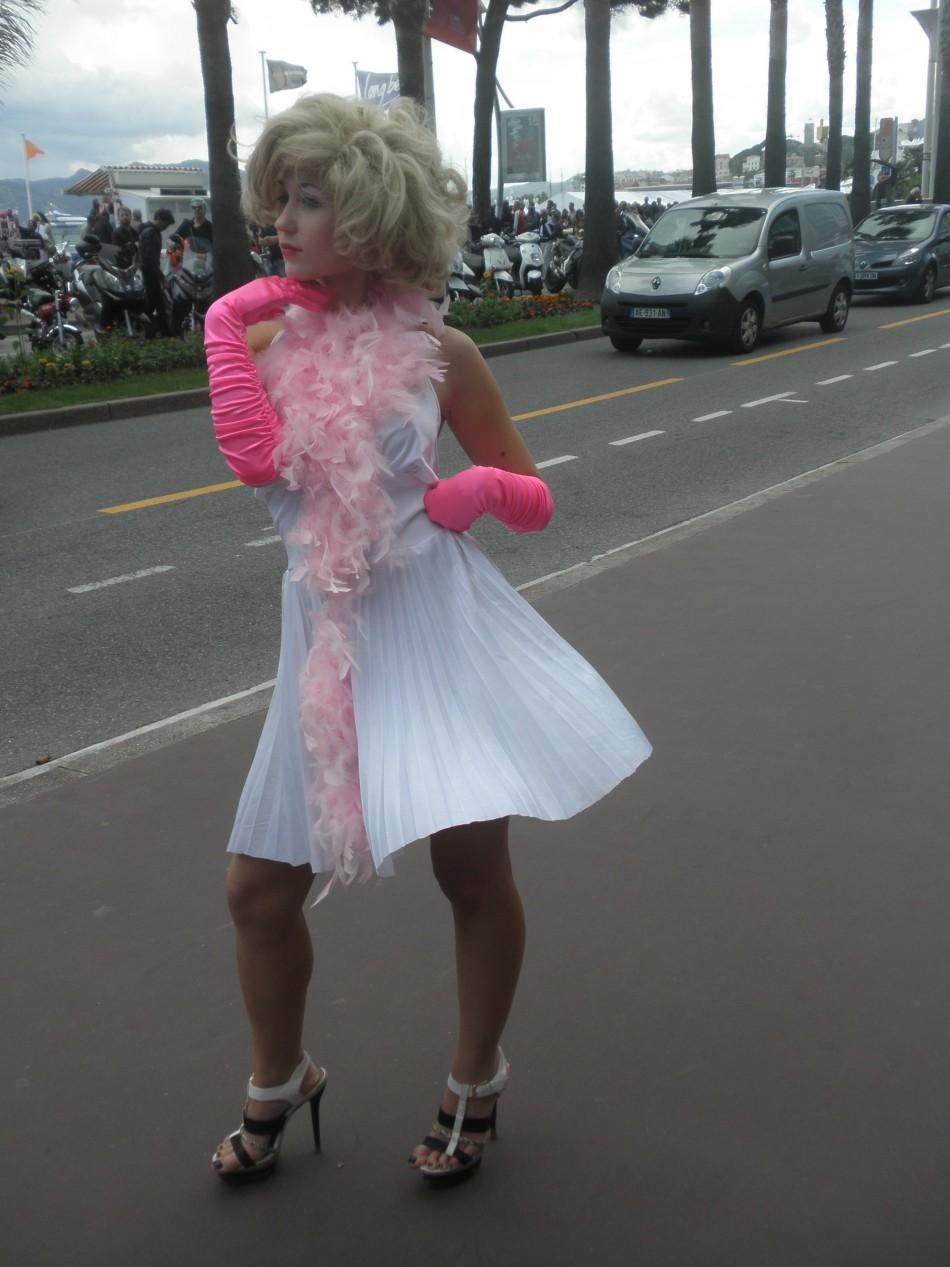as Marilyn Monroe