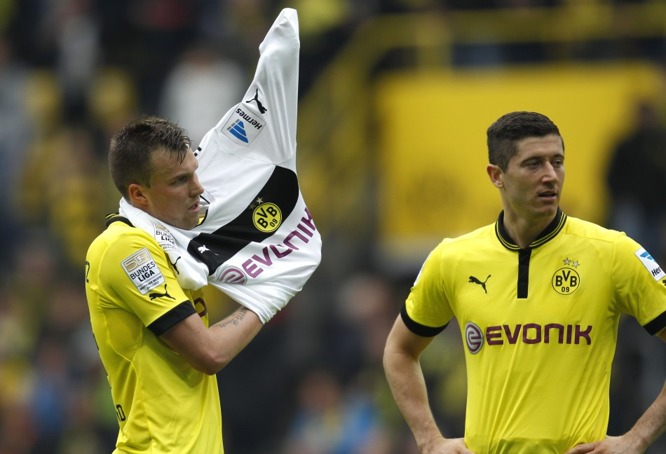 Robert Lewandowski and Kevin Grosskreutz