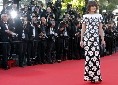 Actress Milla Jovovich arrives for the screening of the film Blood Ties during the 66th Cannes Film Festival in Cannes May 20, 2013.
