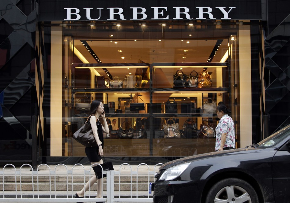Burberry sells a lot more in the Asia-Pacific