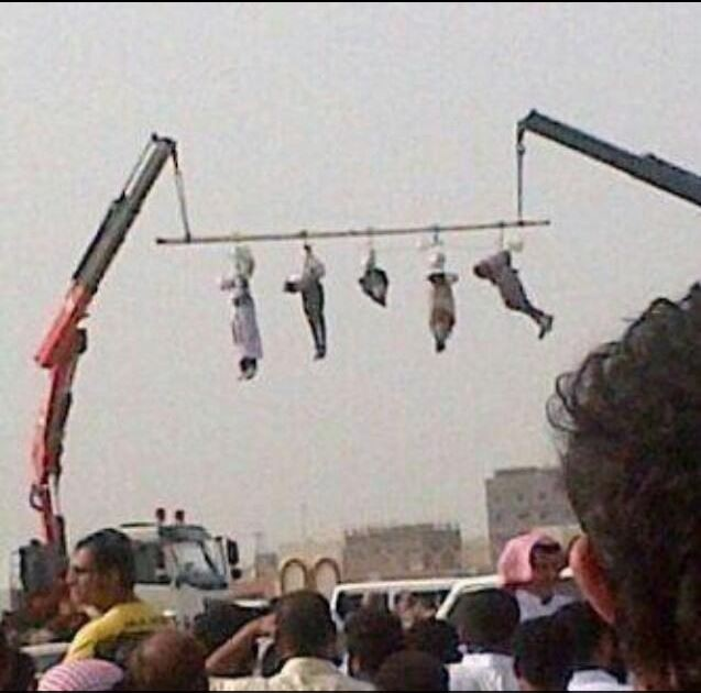 Saudi Arabia Executes and Crucifies Five Yemeni Men