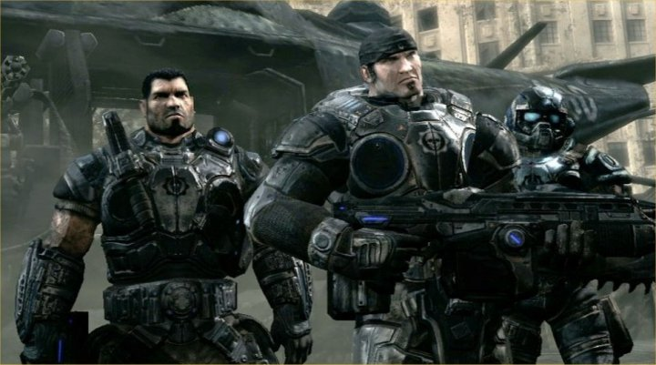 Gears of War Xbox 360 720