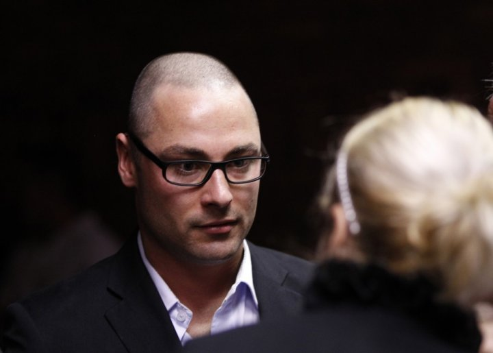 Carl Pistorius in court