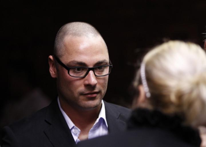 Carl Pistorius in court