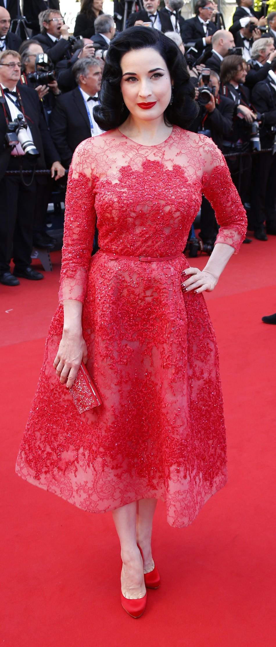Cannes Film Festival 2013 Celebrities on Red Carpet