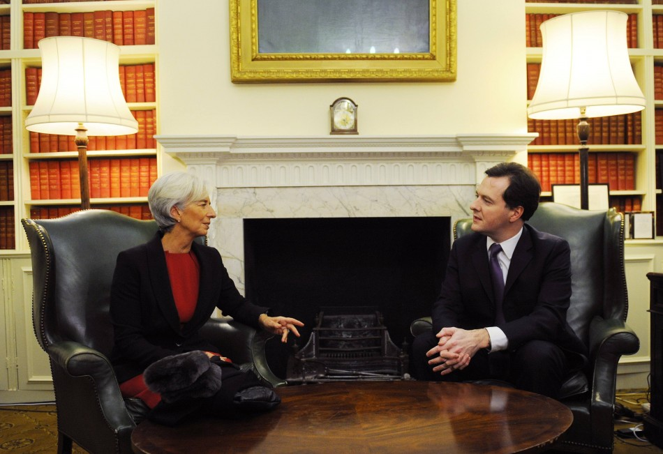 Christine Lagarde George Osborne