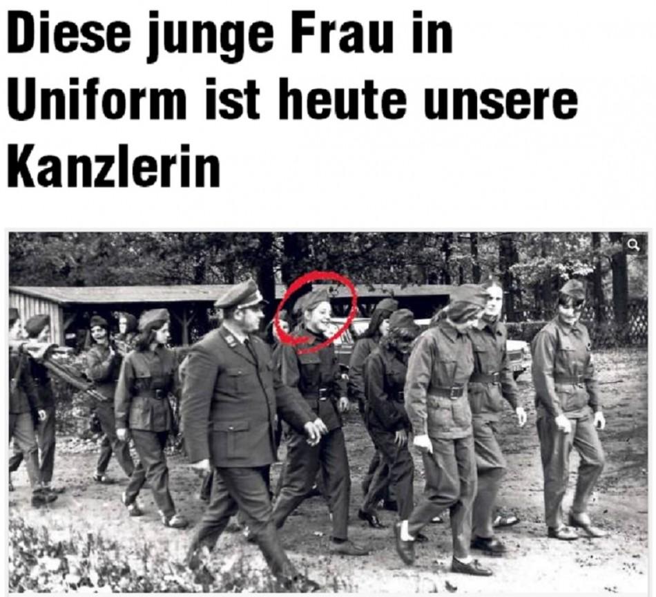 Merkel 1972 uniform