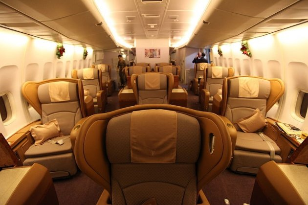 Cabin crew share tips on getting into first class for free (Wiki Commons)