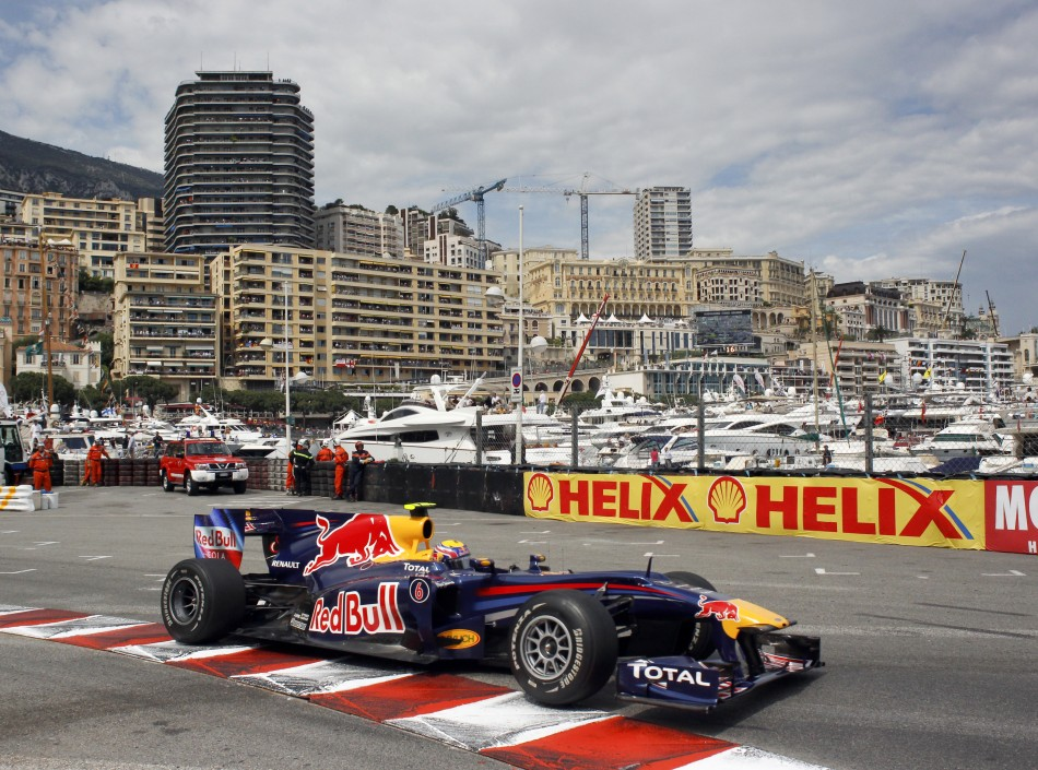 Sebastian Vettel [Red Bull Racing] at Monaco