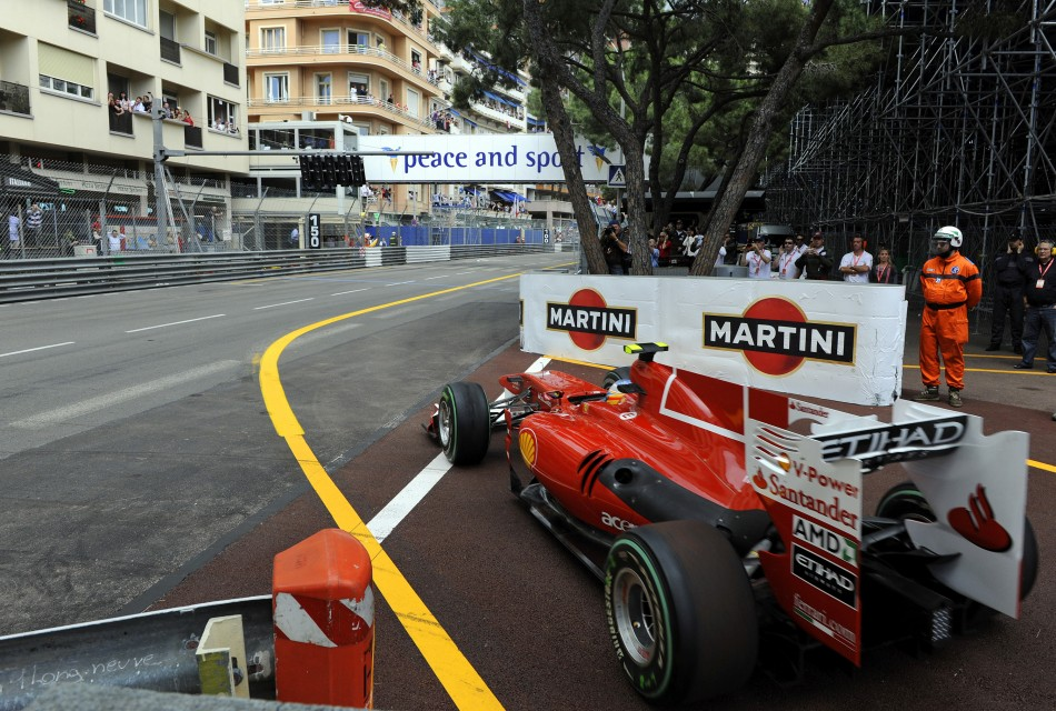 Fernando Alonso at Monaco