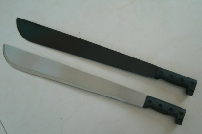 A machete knife was used to slaughter the UK soldier in Woolwich on Wednesday afternoon