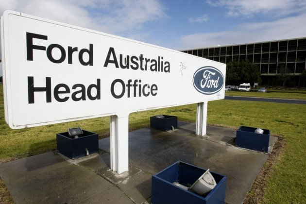 Ford Australia's head office in Melbourne