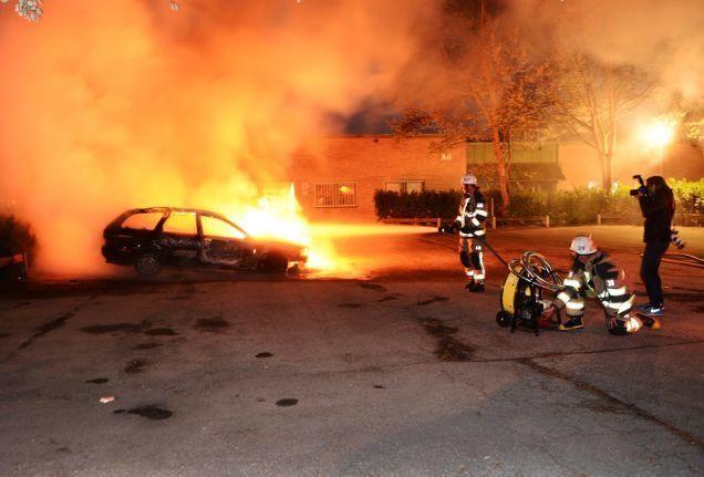 Stockholm rioting