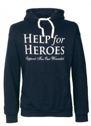 Help for Heroes hoodie