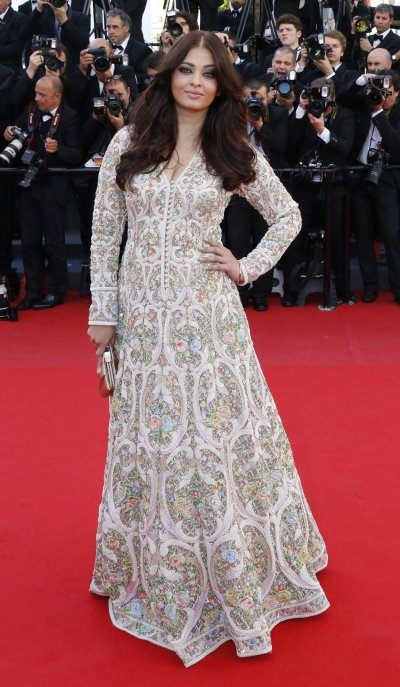 Cannes Film Festival 2013 Aishwarya Rai Red Carpet Look