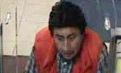 CCTV image of suspect in Pedro Portugal abduction
