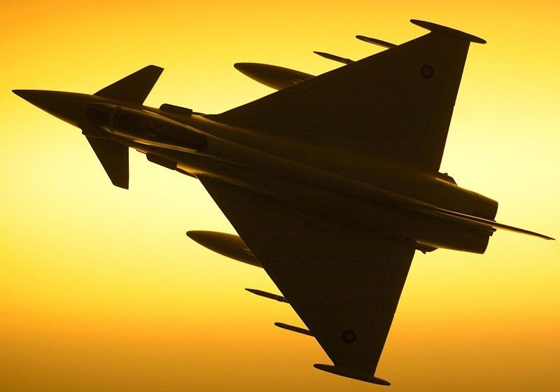 The RAF has confirmed that one of its Typhoon jets was scrambled from RAF Coningsby  (WikiComms)
