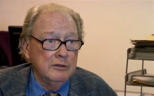 Retired Lord McApline returned to public eye to battle allegations