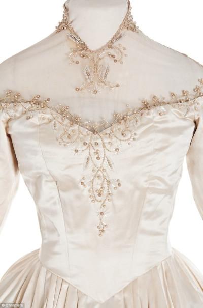 Elizabeth Taylors Wedding Dress