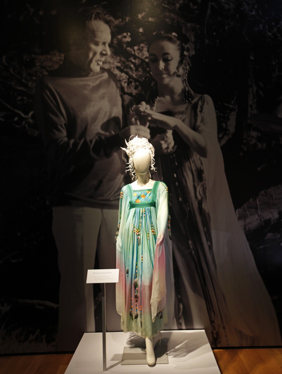 The Gina Fratini Wedding dress worn by actress Elizabeth Taylor in her second marriage to Richard Burton