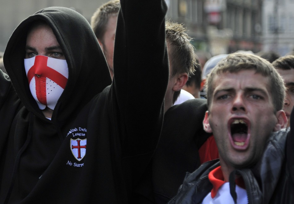 Right-wing groups including the English Defence League are preparing for protests around the UK