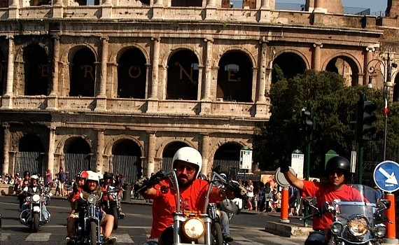 Thousands of Harley-Davidson fans are to invade Rome for the motorcycle brand's 110th anniversary. (www.friendlyrentals.com)