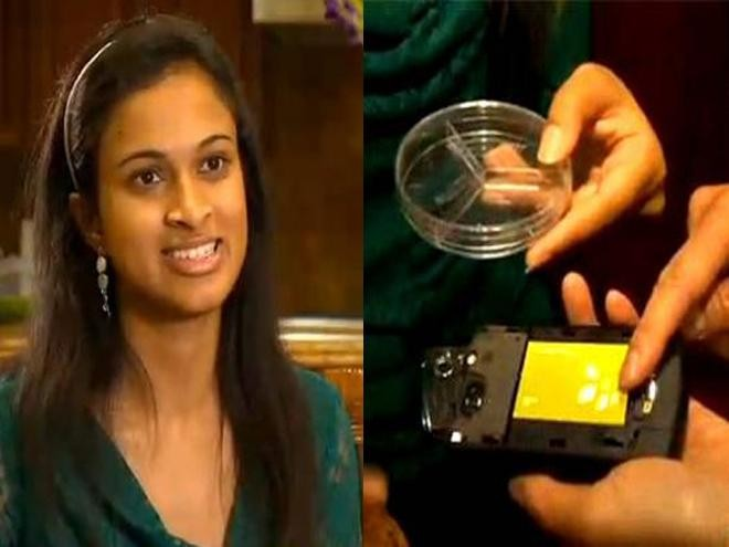 Eesha Khare, an 18-year-old student has invented a super-fast charger for mobile phones. (www.pardaphash.com)