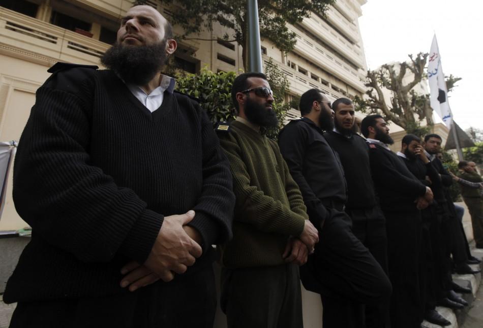 Egypt bearded police